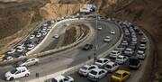 آزادراه تهران-شمال و هراز از ترافیک قفل شد