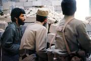 تصویری متفاوت از رهبر انقلاب کنار شهید جهانآرا در خرمشهر