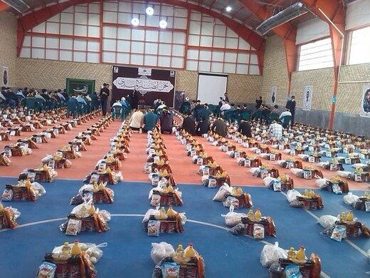 توزیع ۵۰۰ بسته حمایتی به ارزش۱۰۰میلیون ریال توسط اتحادیه انجمن های اسلامی دانش آموزان استان