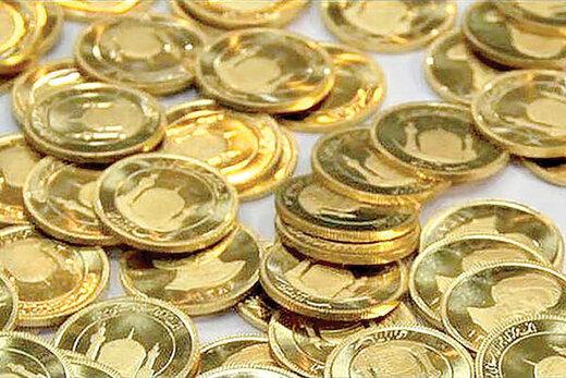 قیمت سکه طی یک ماه چقدر افزایش یافت؟