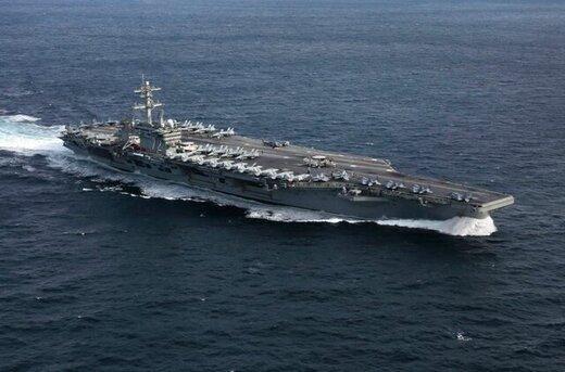 کشتی جنگی آمریکا برای مقابله با نفتکش ایران راهی کارائیب شد/عکس