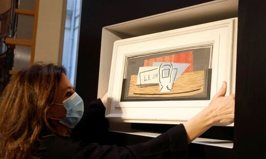 زن خوششانس صاحب نقاشی یک میلیون یورویی شد