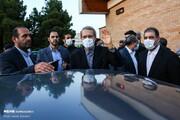تصویری از علی لاریجانی، چند روز قبل از پایان ریاست ۱۲ ساله اش بر مجلس
