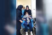 ببینید | لحظه خروج پرستار بیمارستان مسیح دانشوری از بخش قرنطینه کرونا و هیجان زدگی همکارانش که خبرساز شد!