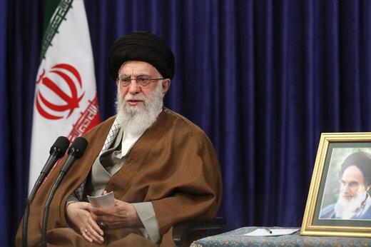 بدء خطاب الإمام السيد علي الخامنئي لمناسبة يوم القدس العالمي