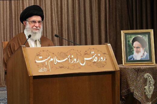 خطاب متلفز لقائد الثورة الإسلامية في ذكرى رحيل الأمام الخميني (رض)