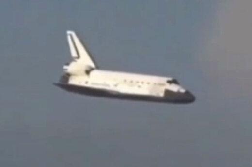 ببینید | لحظه فرود شاتل فضایی دیسکاوری در آمریکا