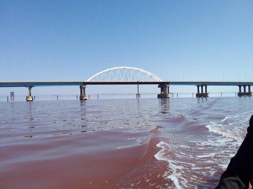 آغاز کاهش تراز دریاچه ارومیه