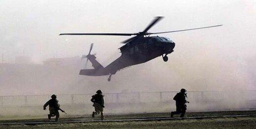 بالگردهای آمریکا در روز روشن یک شخص را ربودند