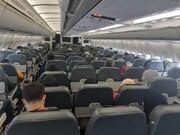 کرونا در پرواز خالی نادیده گرفته شد؟!