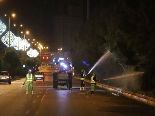 سمپاشی فضای سبز قزوین از امشب آغاز میشود