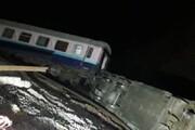 عکس | حادثه برای قطار همدان-مشهد در اطراف تهران