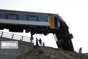تصاویر | حادثه تلخ واژگونی قطار ، این بار در ساعات بامدادی
