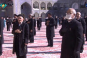 ببینید | حال و هوای حرم امام رضا علیه السلام در روز عید سعید فطر