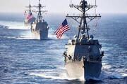 ببینید | واکنش افسر سابق نیروی دریایی آمریکا به حفظ فاصله 100 متری برای ناوها و قایق های ایرانی