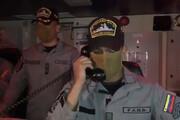 ببینید | گفتوگوی نظامی نیروی دریایی ونزوئلا با سرنشینان نفتکش ایرانی Fortune