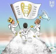 تصویری که آرزوی بسیاری از فوتبالیستها شده!