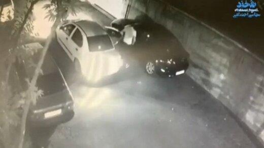 ببینید | سرقت مزدا ۳ در مجیدیه تهران در کمتر از ۴۰ثانیه!