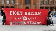 آلمانیها در دفاع از مهاجران به خیابانها آمدند