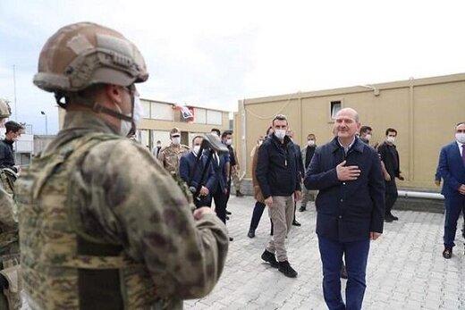 وزیر کشور ترکیه بدون اجازه وارد خاک سوریه شد