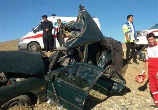 ۱۶ کشته و ۱۰۴ مصدوم در حوادث جادهای ۲۴ ساعت گذشته