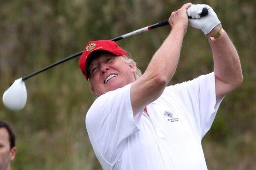 ترامپ: سه ماه بود بازی نکرده بودم!/بایدن پشت فرمان خوابش رفته بود و همهچیز را به چین داد