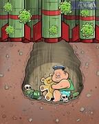 تصویر لو رفته از مخفیگاه کیم جونگ اون!