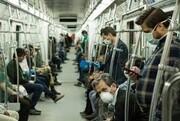 اجبار ماسک در مترو مشهد