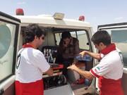 ۱۵ ساعت تلاش برای نجات فرد گمشده در منطقه کوهستانی انجیرآوند