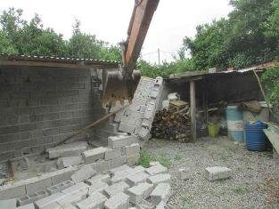 اجرای احکام تخریب بناهای غیرمجاز در بابل