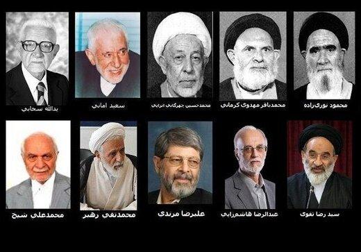 روسای سنی ادوار یازدهگانه مجلس؛ از سحابی تا مرندی و تقوی +جدول