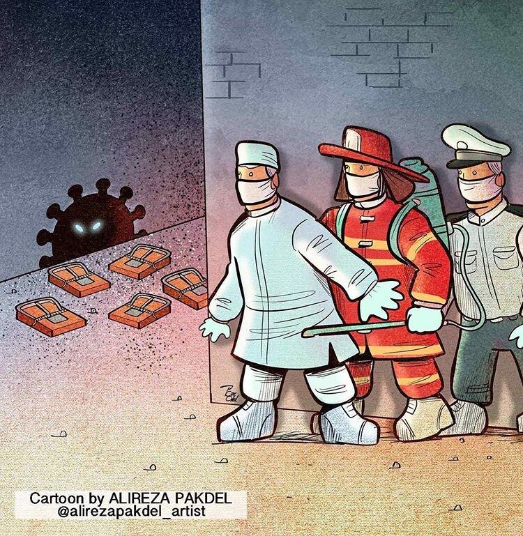 ببینید: کرونا در محاصره نگهبانان سلامت جامعه!