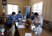 برگزاری جلسه جلسه شورای اداری در بنیاد بهشهر