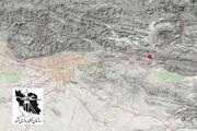 ببینید | محل وقوع زلزله ۴.۴ ریشتری تهران را ببینید