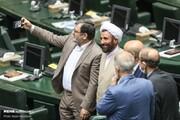 تصاویر | موبایل بازی و عکس سلفی در افتتاحیه مجلس یازدهم