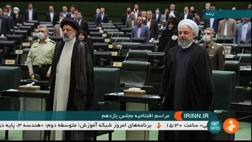 کدام مقامات نظامی در جلسه افتتاحیه مجلس یازدهم حضور داشتند؟ /دولتمردان روحانی هم به پارلمان آمدند /حواشی جلسه افتتاحیه مجلس یازدهم