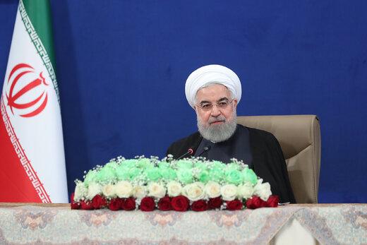روحاني يهنئ باليوم الوطني لجمهورية اذربيجان