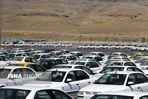 کشف بیش از ۴۰۰ خودروی احتکار متعلق به ۲نفر، اینبار در چیتگر