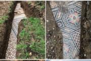 ببینید | کشف یک موزایک فرش باستانی در منطقهای نزدیک شهر ورونا در ایتالیا