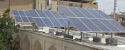 بهره برداری از نیروگاه خورشیدی ۴۰ کیلوواتی در شهرستان دامغان
