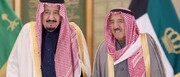 امیر کویت برای پادشاه عربستان نامه نوشت