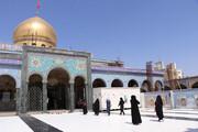ببینید | تصاویری از بازگشایی حرم حضرت زینب(س)