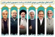 روحانی، رئیسی و قالیباف بهم رسیدند /قاب عکسی که شاید در حسینیه امام خمینی به ثبت برسد