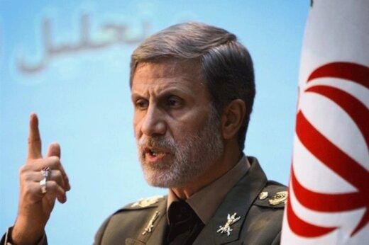 رونمایی جدیدترین دستاورد وزارت دفاع /امیر حاتمی:تحریم آغاز پیشرفت های خیره کننده دفاعی بوده است