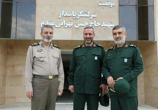 جزئیات دیدار فرمانده کل ارتش با سردار حاجی زاده +عکس