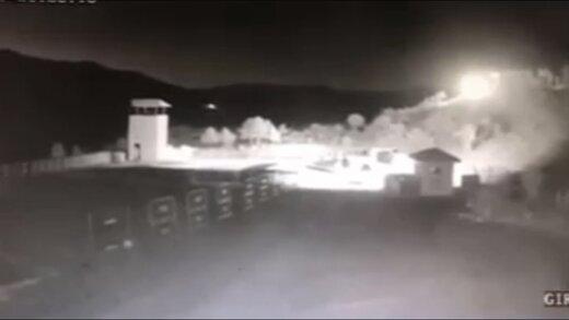 ببینید | انفجار شهاب سنگ در مرز ایران و ترکیه