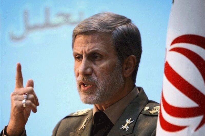 وزیر الدفاع : أمن الخلیج الفارسی یمثل مصلحة مشترکة لدول المنطقة