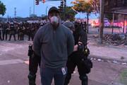 ببینید | بازداشت تیم خبری سیانان هنگام پخش گزارش زنده از مینیاپولیس