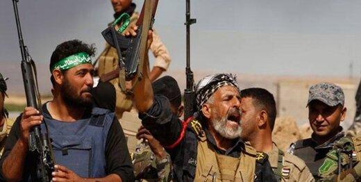 حشدالشعبی یک مخفیگاه مهم داعش را به کنترل خود در آورد