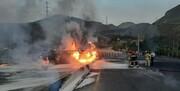 جزئیات تازه از آتشسوزی تانکر حامل سوخت در تهران/ عکس